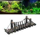 Bridge Decor for Turtle Terrace Aquarium Ornaments Fish Tank Landscape Wood