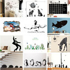 New Wall Art Sticker Decor Decal Nursery Children Bedroom Background Home Office