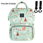Genuine LAND Mommy Baby Diaper Bag Large  Maternity Insulated pockets Backpack