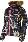 FXR Womens Realtree™ AP Black Snowmobile Fuze Down Jacket Snocross
