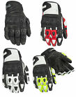 Cortech Mens Impulse ST Leather Motorcycle Gloves All Sizes & Colors