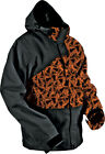HMK Stamp Orange/Black Mens Hustler 2 Snowmobile Snow Jacket 2016