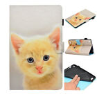 """For Kindle Fire 7"""" 5th Gen 2015 Cute Pattern PU Leather Wallet Case Stand Cover"""