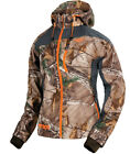 FXR Womens Realtree™ Xtra/Charcoal Snowmobile Mission Softshell Hoodie