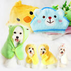 Lovely Pet Cotton Soft Comfortable Absorbent Bath Towel Animal Shape Hoodies
