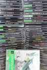 PlayStation 1 PS1 Games 100% Authentic All Original Sony lot FAST FREE SHIPPING