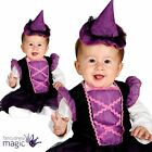 Baby Toddlers Girls Little Witch Halloween Fancy Dress Costume Outfit With Hat