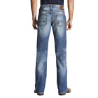 Ariat Men's M6 Adkins Midway Slim Boot Cut Jean - Blue