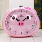 Novelty Cute Pig Talking Alarm Clock With Night Light Table Clocks Silent Sweep