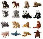 IKEA Kids Toys Panda Teddy Bear Monkey Shark Dog Animals Soft Plush Cuddly Toy