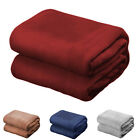 Super Soft Coral Fleece Blanket Fuzzy Warm and Comfortable All Year Bed Blanke