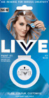 Schwarzkopf LIVE PAINT IT! Temporary Hair Color Chalk Dye Pink Crush   Icy Blue