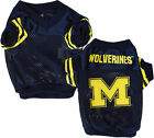 Sporty K-9 NCAA Michigan Wolverines Football Dog Jersey