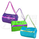 Внешний вид - Kids Girls Gymnastics Cheer Sport Nylon Dance Duffle Bag Metallic Color Option