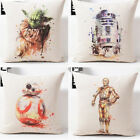 Star Wars Cushion Cover Home Decor Watercolor Decorative Pillows Covers