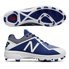 32eeb3cec51 New Balance PL4040D4 (Royal White) Low TPU Molded Baseball Cleats - Men s