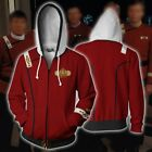 Star Trek : The Wrath of Khan Zipper Hoodie Zip Jumper Hooded Hoody Sweatshirt on eBay