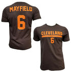 Custom Adult Cleveland T-shirt  Baker ANY NAME NUMBER Mayfield