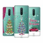 HEAD CASE DESIGNS MERRY CHRISTMAS TREES SOFT GEL CASE FOR AMAZON ASUS ONEPLUS