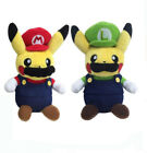 Внешний вид - Pokemon Center Mario Pikachu Mario Luigi Plush Doll Super Mario Soft Toy
