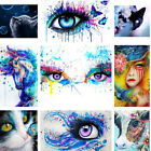 Crush Eyes DIY Paint By Number Acrylic Oil Painting On Linen Home Wall Decor