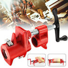 3/4 inch Wood Gluing Pipe Clamp Set Cast Iron Woodworking Carpenter Tool US