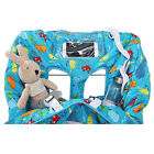 2-in-1 Shopping Cart Cover and High Chair Cover Safety Harness For Baby Kids