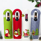 Christmas Knitted Wine Bottle Cover Set Christmas Decorations Red Wine Covers UK