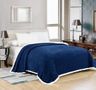Cozy Oversized Premium Plush Sherpa Blanket Covers - Assorted Colors & Sizes image