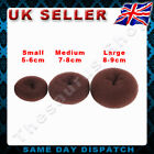 4 x Hairdressing Bun Hair Former Doughnut Shaper Ring Styler S M L XL 3COLOR