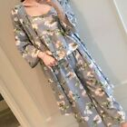 Fashion Women Daisy Nightgown Sleepwear Nightdress Pants Robes Pajamas Suit Gift