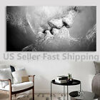 Kyпить Black & White Love Kiss Abstract Art Canvas Painting Wall Picture Print Framed на еВаy.соm