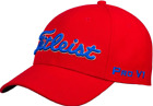 Titleist  TOUR ELITE Fitted  Cap  Mens Hat-Red