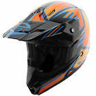 Answer AP-867 Racing MSR Nova Syncron Black/Orange Motorcycle Motocross Helmet