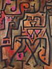 FOREST WITCHES by Paul Klee - Matt, Glossy, Canvas Paper A4 or A3