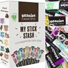BEANIES 12 MIXED BLENDS; INSTANT FLAVOURED COFFEE STICKS - VARIETY PACK