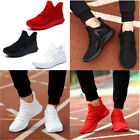 US Men's Running Shoes Breathable Mesh Sneakers Sport Casual Athletic Trainers
