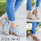 Fashion Womens Girls Warm Ankle Boots High Heeled Shoes Casual Party Shoes Boots