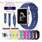 38/42/40/44mm Silicone Band Strap For Apple Watch iWatch Sports Series 4/3/2/1 image