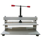 Steel Bookbinder Press Screw Bookbinding Financial Receipt Flattening machine