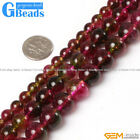 """Faux Crackle Tourmaline Quartz Round Beads For Jewelry Making Free Shipping 15"""""""