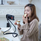 Phone Selfie Holder Bracket Universal Neck Stand Flexible Rotation Bed Mount 360