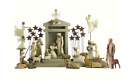 Hand-Painted Sculpted Figurines Collectibles Figure Willow Tree Nativity Set New