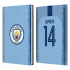 MAN CITY FC 2018/19 PLAYERS HOME KIT GROUP 2 WHITE GREY LEATHER PASSPORT HOLDER