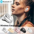 Mini Invisible Bluetooth 4.1 Earbud Wireless Earphone Stereo Sports Headphone