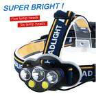 Professional IPX4 Waterproof  X-XWT 5/6 LEDs 8000 Lm Headlight Rechargeable WT