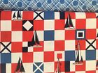 Michael Miller Quilt Fabric BABS & MARINER FLAGS By the Yard Nautical
