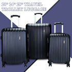 Luggage Travel Set Bag ABS Trolley 360 Spinner Carry On Suitcase with Lock