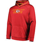 NFL Kansas City Chiefs Geo Fuse Red Synthetic Pullover Hoodie Jacket