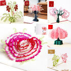 Внешний вид - 3D Pop up Cards Vintage Theme Greeting Cards Thanksgiving Mother's Day Gift New